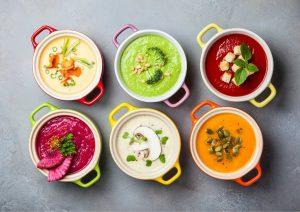 מעגבניות ועד לבטטה: מרקים מרשימים לאירועים